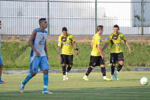 ABC venceu equipe paraibana por 4 a 0