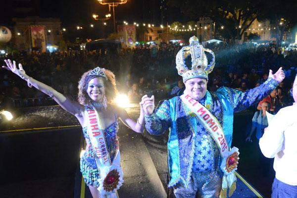 Rei Momo e nova rainha do Carnaval de Natal foram escolhidos ontem