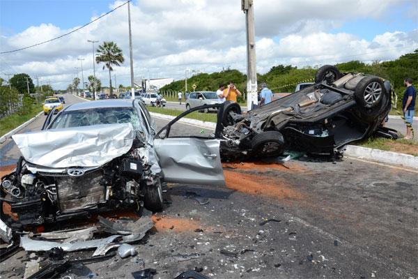 A maioria dos acidentes está relacionada à falta de obediência às leis de trânsito