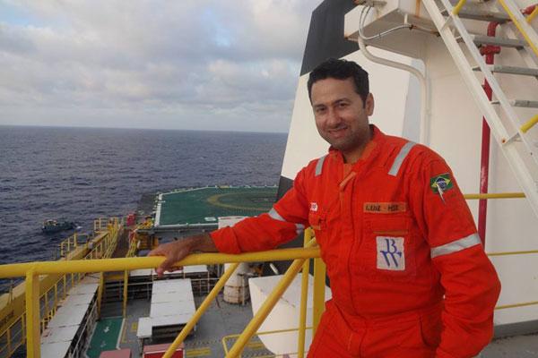 Luiz Cláudio Nogueira é técnico de segurança e funcionário da empresa BW Offshore Brasil