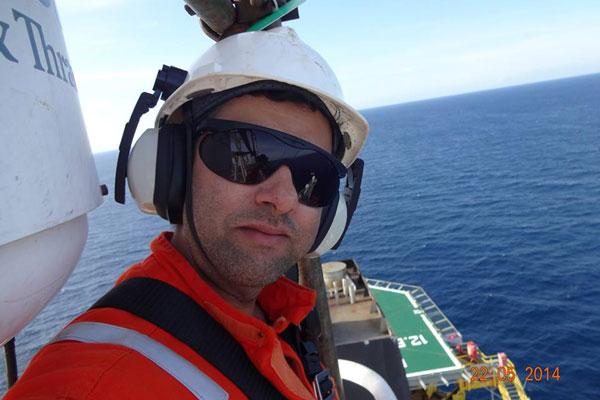 Técnico de segurança Luiz Cláudio Nogueira trabalhava há dois anos na BW Offshore Brasil