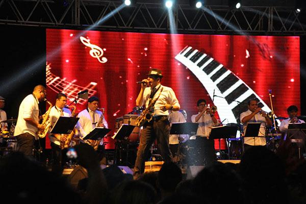 Essa é a segunda apresentação da orquestra no Carnaval de Natal
