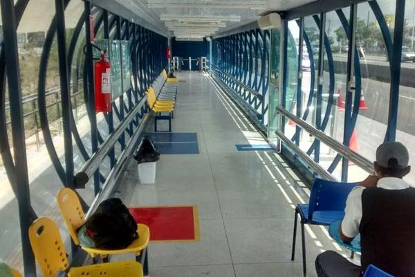 Estação de transferência terá funcionário durante horário de funcionamento e será climatizada