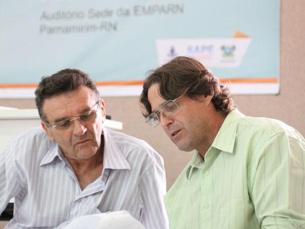 José Spínola e Gilmar Bristot falaram sobre prognóstico de chuvas