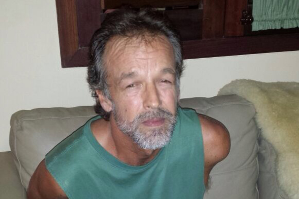 Victor Barnard foi preso pela PM da na noite desta sexta-feira (27) na praia da Pipa, no litoral Sul