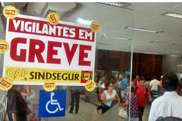 No Banco do Brasil, apenas caixas eletrônicos ficaram funcionando