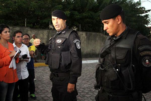 Major Rodrigo Trigueiro atualiza informações sobre o sequestro em Capim Macio