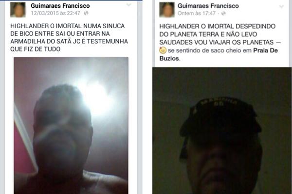 Sequestrador disse em uma rede social que estava em uma sinuca de bico e uma armadilha de Satã