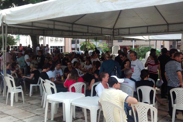 Servidores do judiciário estão paralisados desde terça-feira