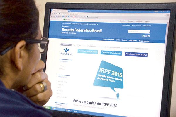 O programa para declarar o imposto está no site da Receita