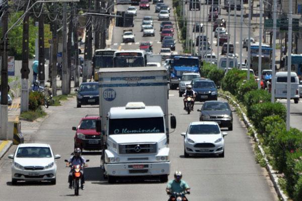 Veículos pesados deixarão de circular pela Salgado Filho e Hermes