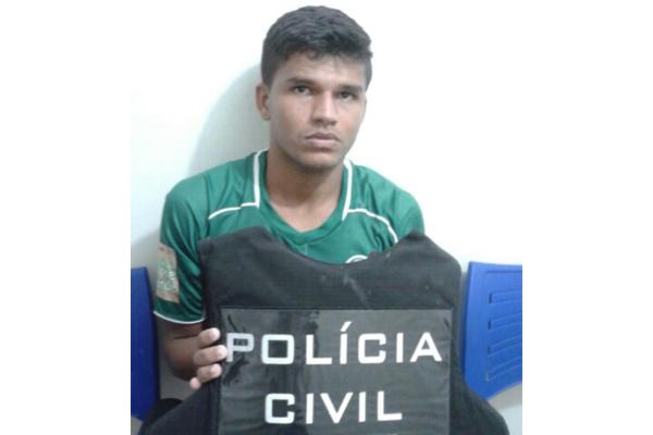 Thiago foi detido logo após a vitória do Palmeira sobre o Baraúnas no último sábado