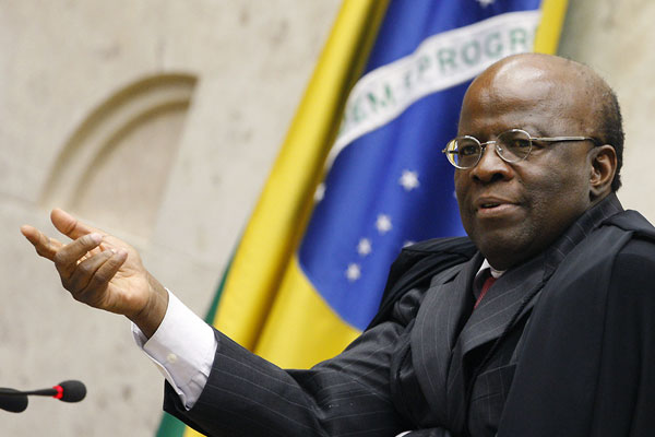 Joaquim Barbosa deixou o Supremo Tribunal Federal e ainda não foi substituído