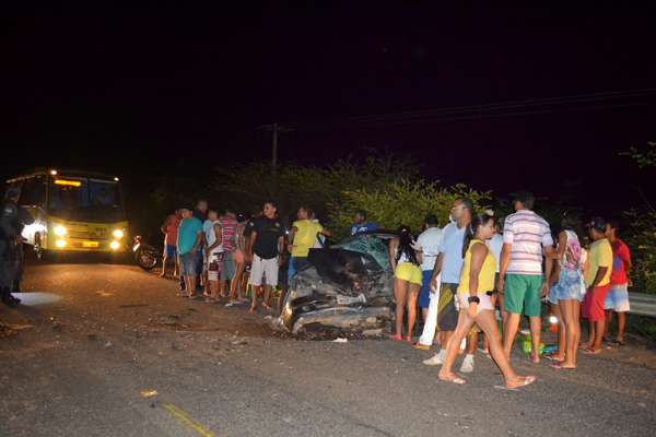 Acidente deixou dois mortos e quatro pessoas feridas em Alto do Rodrigues, na região Oeste do RN