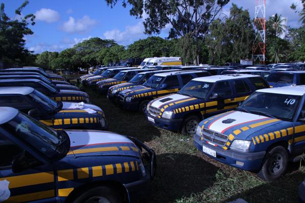 PRF vai leiloar 112 viaturas nesta quarta-feira em Natal
