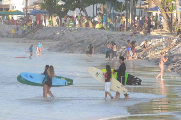 Previsão é de maré alta entre o litoral da Bahia e Rio Grande do Norte