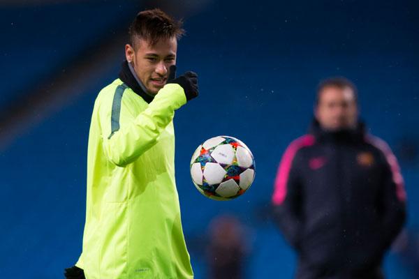 Depois de voltar a fazer gols, Neymar ganhou confiança no Barça