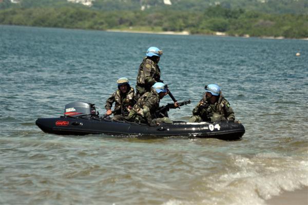 Militares participam de treinamento em Natal antes de embarque para o Haiti