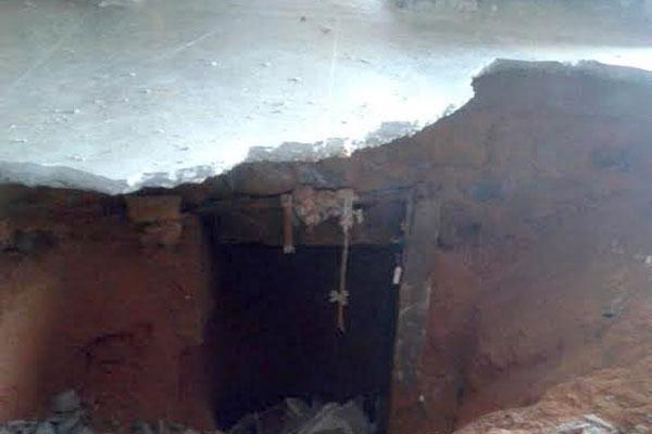 Agentes encontraram acesso que ligava as duas alas do pavilhão 1 de Alcaçuz