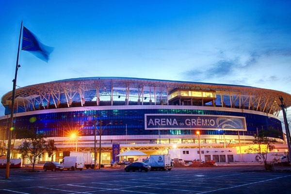 A Arena Grêmio, inaugurada recentemente pelo Tricolor Gaúcho será palco do primeiro teste