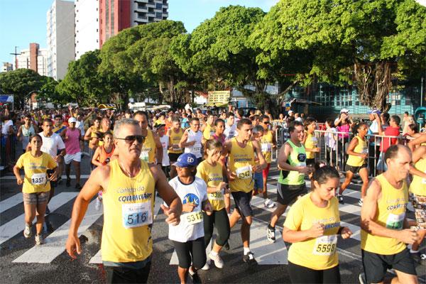 Corrida é tradicional em comemoração ao Dia do Trabalhador