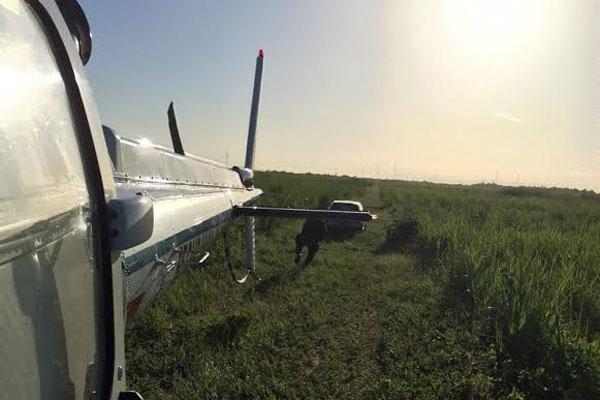 Helicóptero da Sesed foi utilizado para auxiliar nas buscas