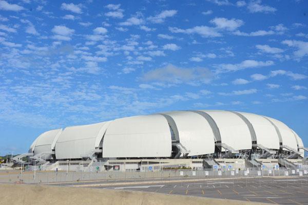 Em Natal, a Arena das Dunas não conseguiu acordo com o ABC