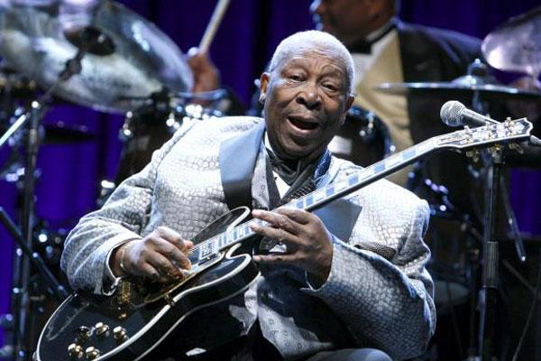 B.B. King ganhou 16 prêmios Grammy e gravou mais de 50 discos em quase 60 anos de carreira