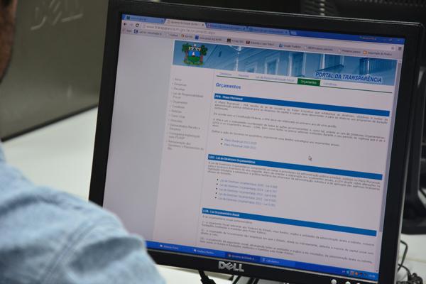 Governo do Estado informou que a Control está providenciando alterações na estrutura da homepage do Governo do RN para facilitar, ao cidadão, o acesso aos dados