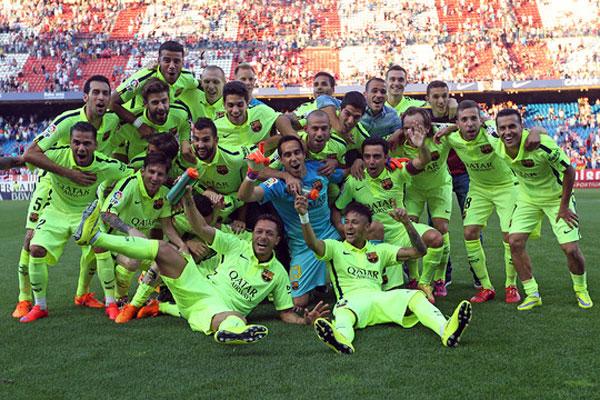 Este é o quinto título espanhol do Barcelona nos últimos sete anos