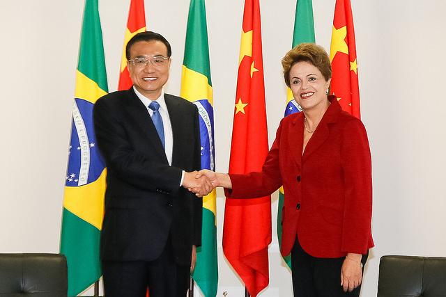 Presidente Dilma recebeu o primeiro-ministro chinês Li Keqiang nesta terça-feira (19) em Brasília