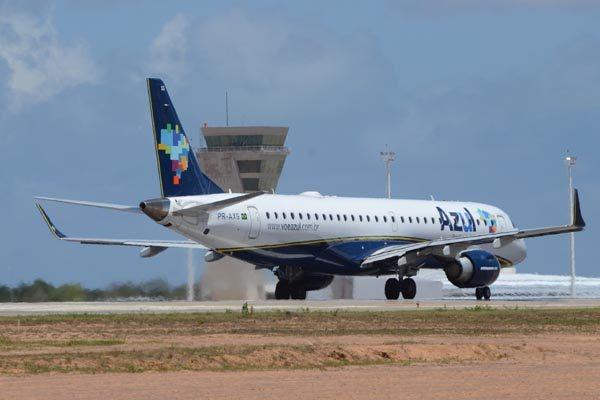 Azul terá voos diretos com destino a Salvador, São Paulo, Belo Horizonte e Campinas