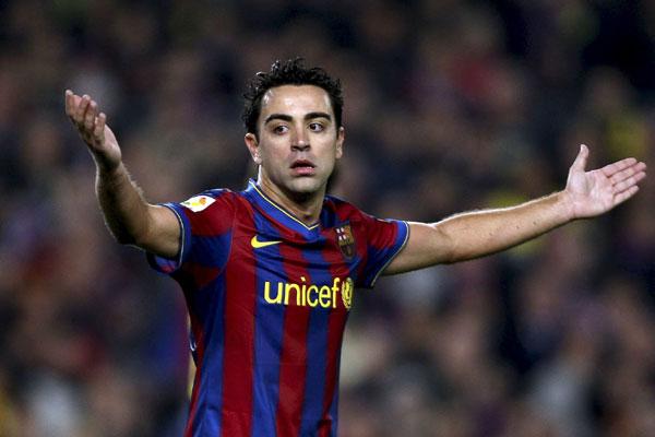 Aos 35 anos, Xavi se despede do Barcelona