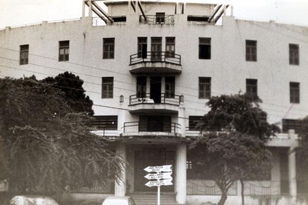O Grande Hotel na Ribeira foi palco de intenso tiroteio