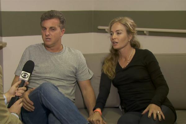 Luciano Huck e Angélica falaram sobre acidente em entrevista ao Jornal Nacional