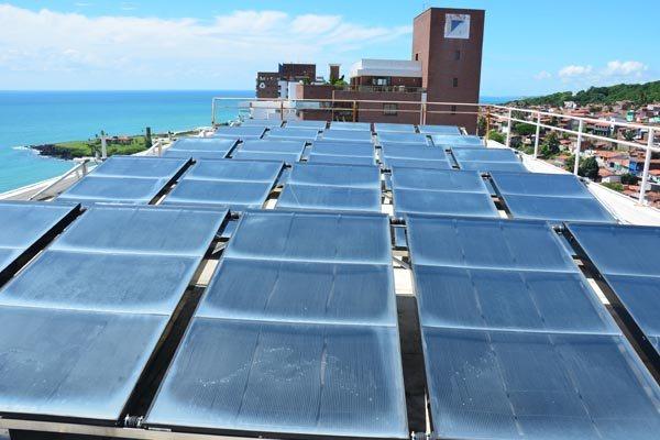 Painéis para geração de energia solar: RN é o estado com terceira maior potência inscrita no leilão