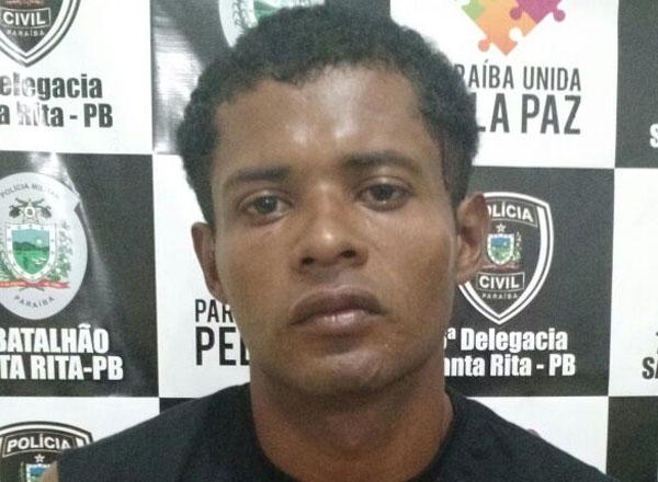 Anderson Carlos do Nascimento foi detido no município de Santa Rita, na Paraíba