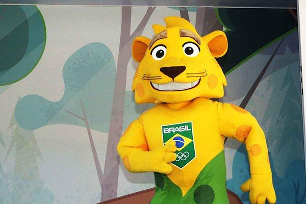 """""""Ginga"""" presta homenagem a onça-pintada típica do Brasil"""
