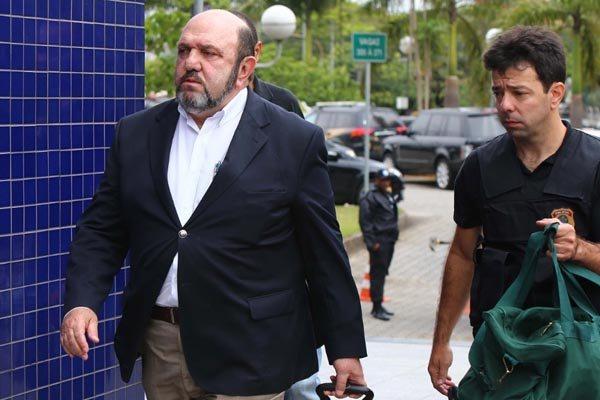 Empresário Ricardo Pessoa firmou acordo de delação premiada