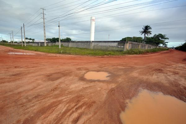 Falta de pavimentação e iluminação pública precária estão entre os problemas encontrados em distritos industriais no estado