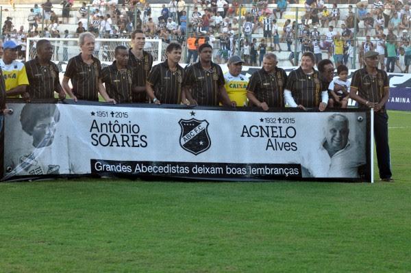 ABC faz homenagem a Agnelo Alves