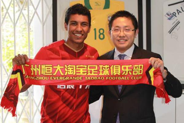 Guangzhou Evergrande pagou 14 milhões de euros para tirar Paulinho do Tottenham