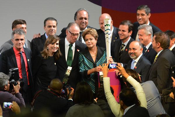 Tocha foi apresentada na manhã desta sexta-feira em Brasília