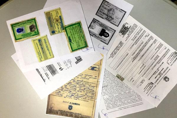 No apartamento do delegado preso também foram encontrados documentos de irmã de Maria Cosme, que seria usada como laranja no esquema
