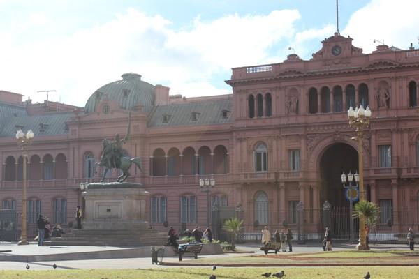 A Casa Rosada, em Buenos Aires é sede do governo argentino e um dos pontos turísticos da cidade