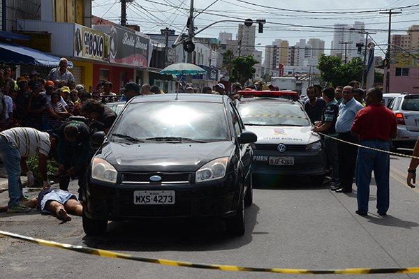 Assassinato ocorreu perto das 8h30, no Alecrim