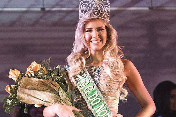 Manoela Alves foi coroada Miss RN na noite de ontem