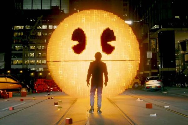 Pac-Man e Donkey Kong são os principais vilões do longa Pixels