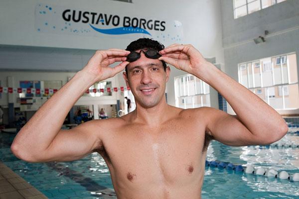 Gustavo Borges conquistou quatro medalhas olímpicas e 19 pan-americanas ao longo da carreira