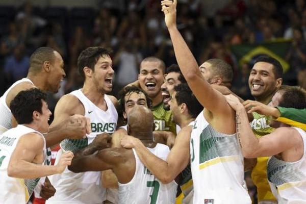Seleção brasileira de basquete vence o Canadá e conquista o ouro no Pan